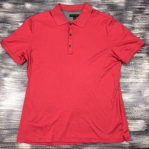 Men's Banana Republic Polo Shirt Sz XL Red